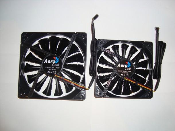 Aero Cool SHARK 12cm oraz 14cm (4)