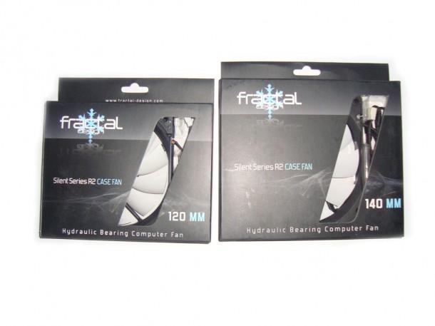 Fraktal design Silent Series R2 CASE FAN 120MM oraz 140MM (1)