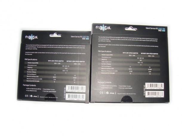 Fraktal design Silent Series R2 CASE FAN 120MM oraz 140MM (2)