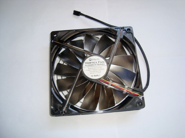 Prolima tech Vortex Fan Aluminium Series 140mm (1)