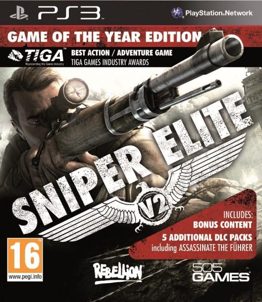 Sniper Elite V2 w wersji Game of The Year
