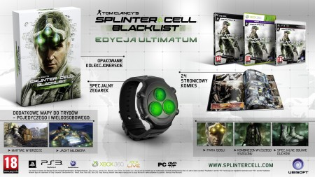 Splinter Cell Blacklist Ultimatum Edition polska edycja edition