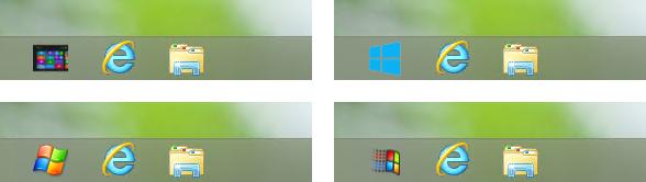 Start Windows 8 przywracanie przycisku