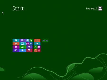 grupowanie aplikacji w menu Start Windows 8