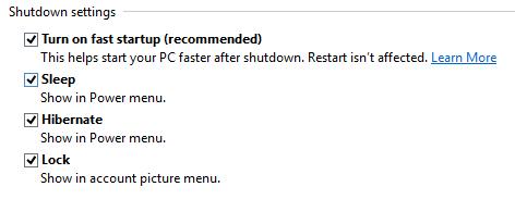włączenie hibernacji Windows 8