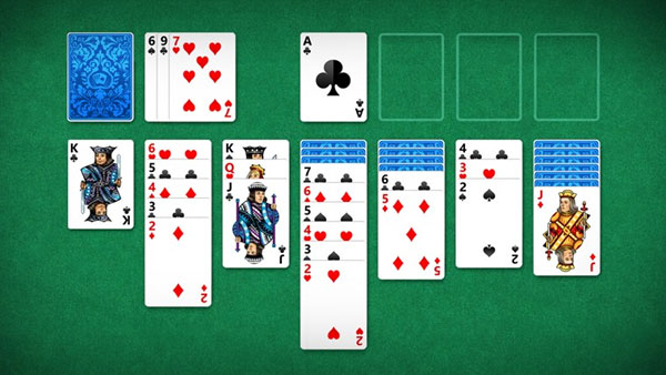 Windows Solitaire pasjans