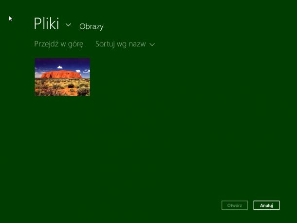 obrazy Windows 8