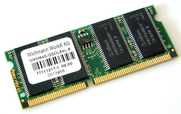 SODIMM pamięci RAM