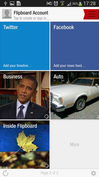 Flipboard Galaxy S4