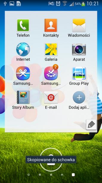 Galaxy S4 ekran blokady 1