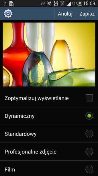 Galaxy S4 tryb 1