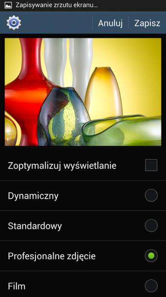 Galaxy S4 tryb 3