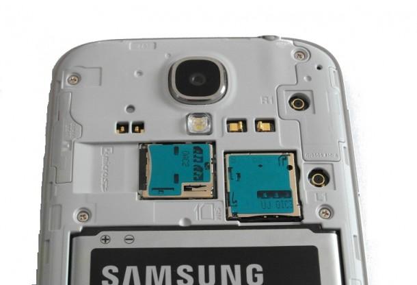Galaxy S4 tył bez klapki