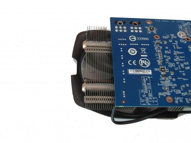 Gigabyte GTX 660 Ti OC wielkość PCB