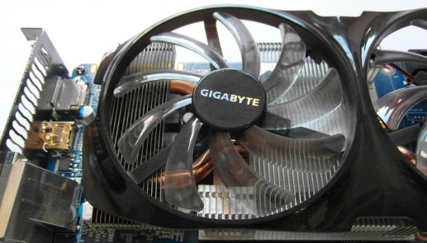 Gigabyte GTX 660 Ti wentylatory