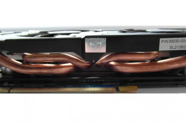 Sapphire Radeon HD 7870 heat-pipe
