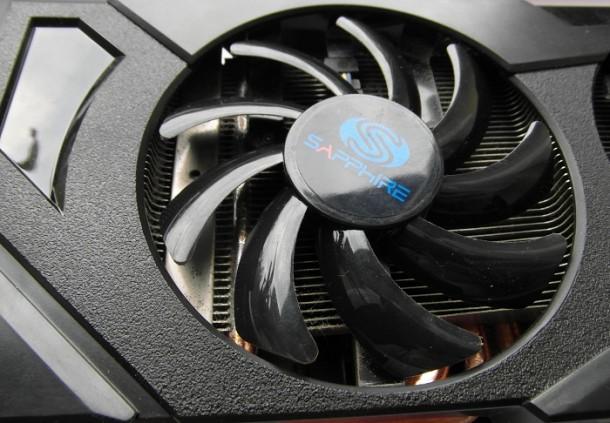 Sapphire Radeon HD 7870 wentylatory