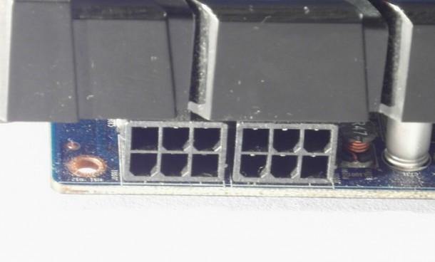 Sapphire Radeon HD 7870 gniazdo zasilania