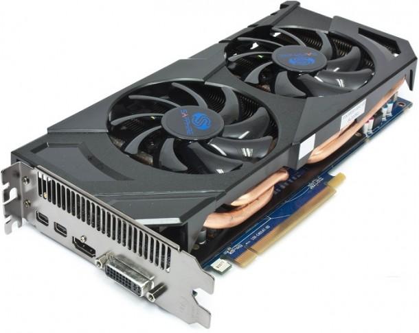 Sapphire Radeon HD 7870 gora