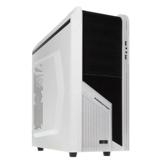 Obudowa Xigmatek Assassin 2 - USB 3.0 – biało-czarny