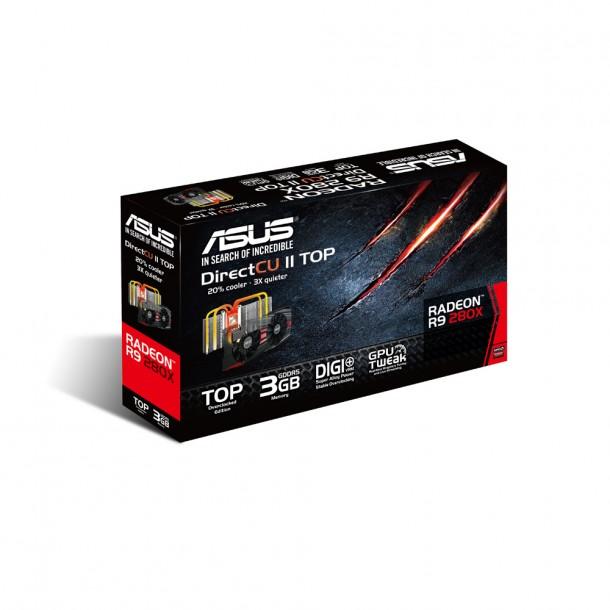 Asus R9 290X pudełko