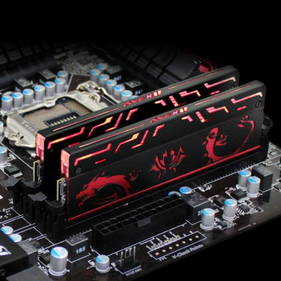 Pamięci Avexir Blitz 1.1 Red Dragon - DDR3_4