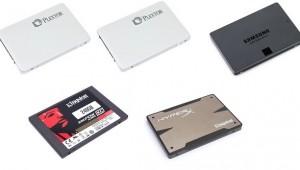 Plextor M5 pro  Samsung 840 EVO Kingston HyperX3K KC300 120GB 128GB 256GB miniaturka