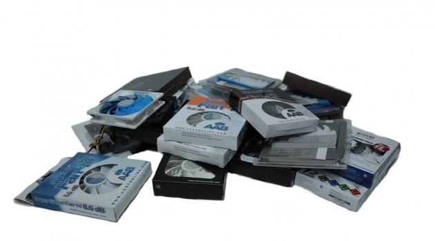test wentylaotów silverstone aab noctua titan nh-p14 s12 black silent kukri led