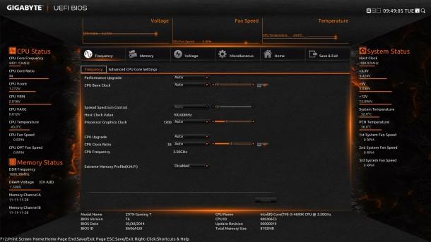 Gigabyte Z97X-Gaming 7 8