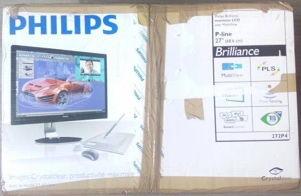 Philips 272P4QPJKEB opakowanie