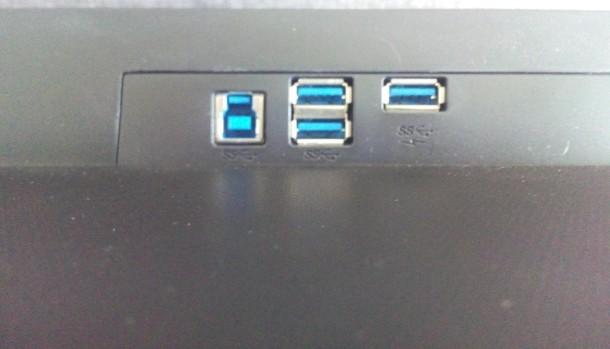 Philips 272P4QPJKEB złącza USB