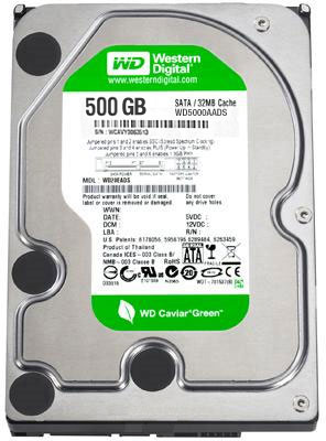 WD Green 500GB