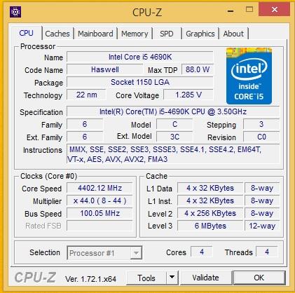 i5 4690k gigabyte z97x gaming 7
