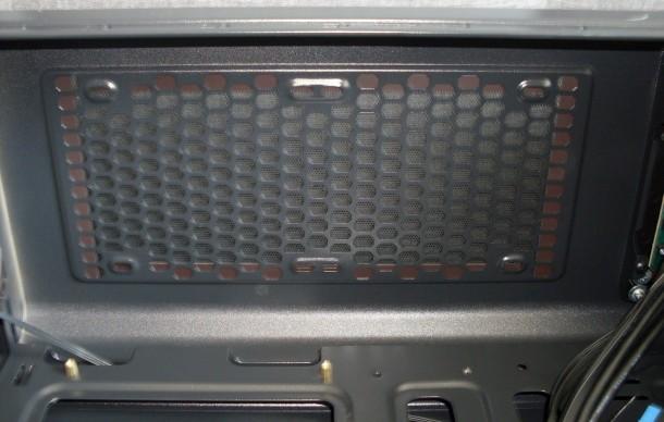 silentiumpc gladius 35 górny filtr przeciwkurzowy 2