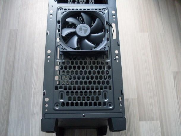 silentiumpc gladius m35 filtr przeciwkurzowy na frontpanelu wentylator spc sigma pro