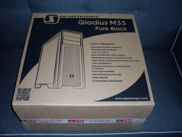 silentiumpc gladius m35 opakowanie