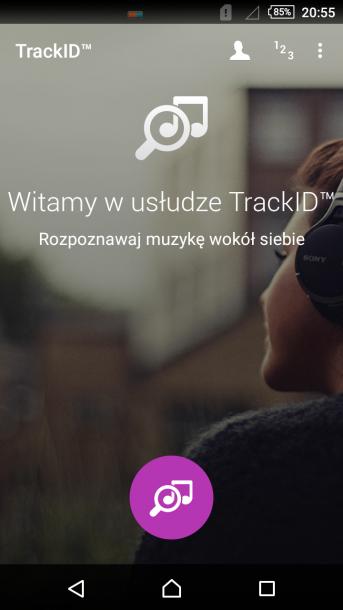 sony xperia m4 aqua TrackID