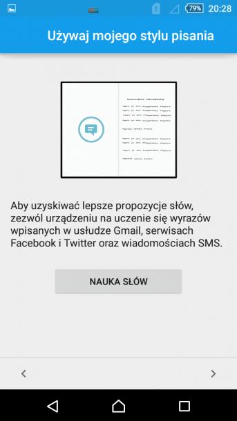 sony xperia m4 aqua personalizacja klawiatury 3