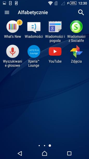 sony xperia m4 nakładka android 10