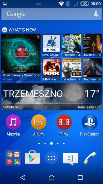 sony xperia m4 nakładka android 2