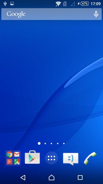 sony xperia m4 nakładka android 4