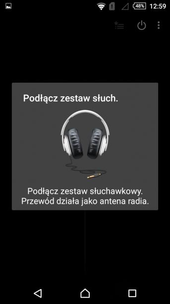 sony xperia m4 nakładka android radio
