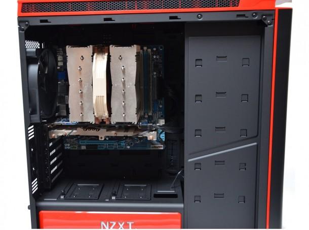NZXT H440 złożony komputer