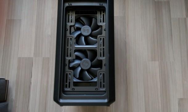 silentiumpc m45w wentylatory za przednim filtrem