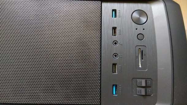 silentiumpc m45w złącza panelu IO