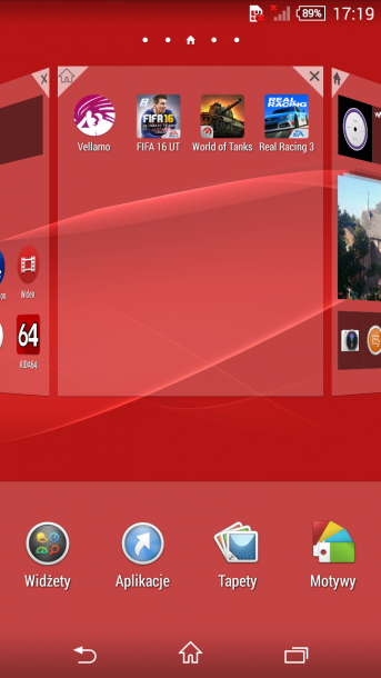 xperia z3 compact menu android 1