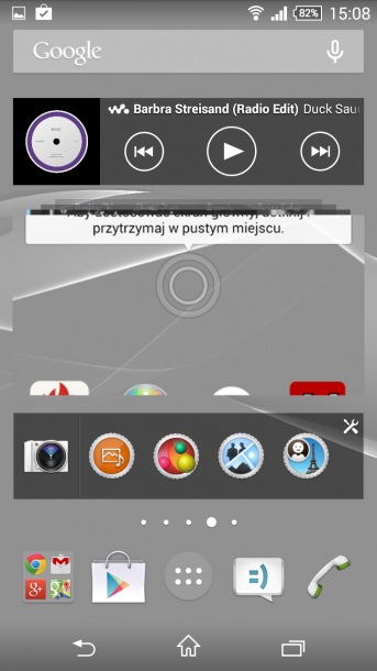 xperia z3 compact menu android 3