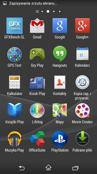 xperia z3 compact menu android 8
