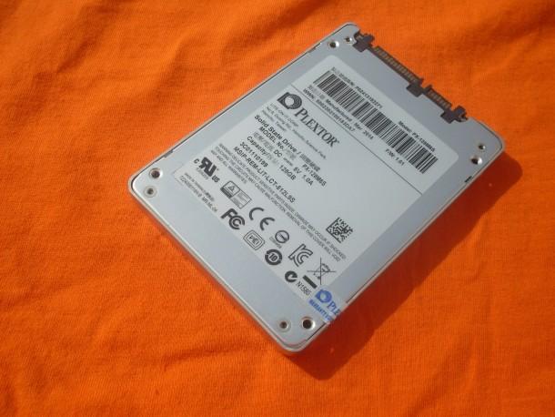 Plextor M6S 128 GB spód urządzenia