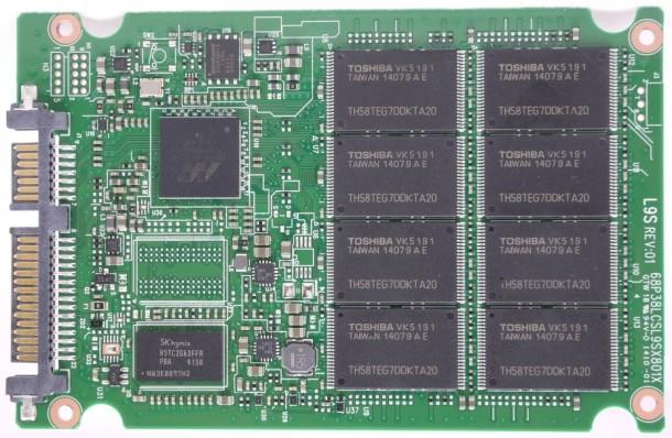 plextor m6s 128gb - płytka drukowana PCB